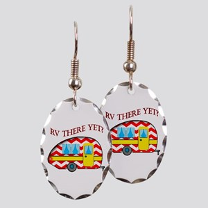 Rv There Yet? Earring Oval Charm