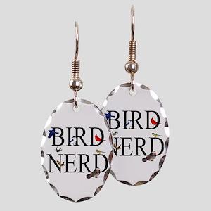 Bird Nerd Earring Oval Charm