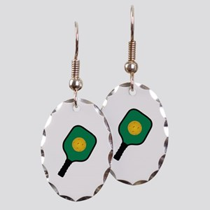 PICKLEBALL AND PADDLE Earring
