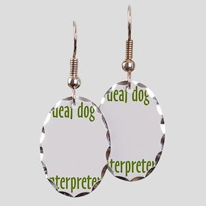 InterpreterWasabi Earring Oval Charm