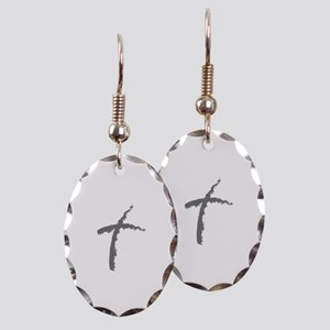 Contemporary Cross Earring