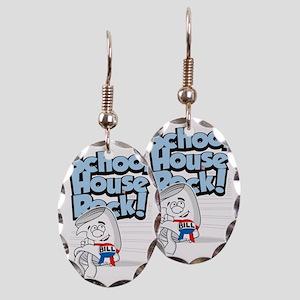 School-House-Rocks-Bill Earring Oval Charm
