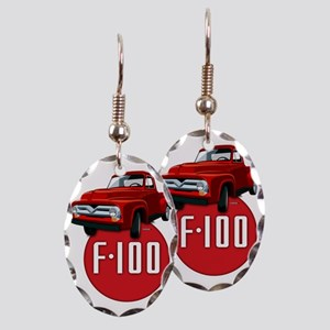 Second generation Ford F-100 Earring Oval Charm