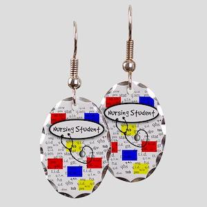 NS 6 Earring Oval Charm