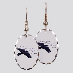 All Crows Want to Fly Free Earring
