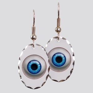 The Eye: Electric Earring Oval Charm