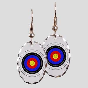 archery Earring Oval Charm