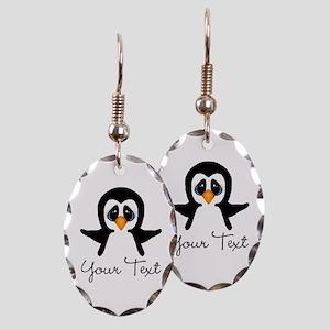 Personalizable Penguin Earring