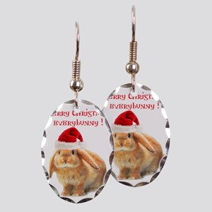 merry-xmas Earring Oval Charm