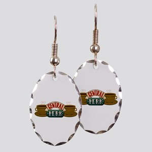 Friends Central Perk Earring Oval Charm