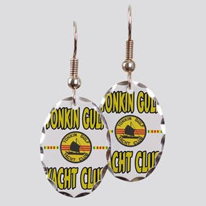 TONKIN GULF YACHT CLUB Earring Oval Charm