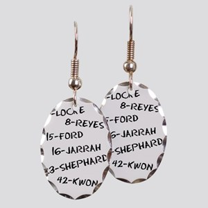 Lost - Candidates (Black) Earring Oval Charm
