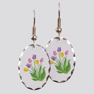Tulips Plant Earring