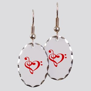TREBLE MUSIC HEART Earring