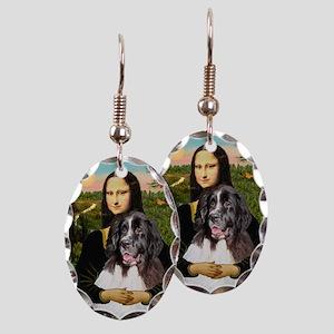 Mona Lisa's Landseer Earring Oval Charm