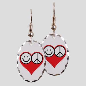 HAPEALO Earring Oval Charm