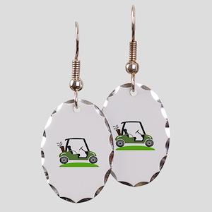 Golf Cart Earring