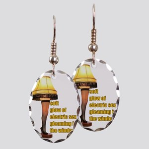 Electric Sex Earring Oval Charm