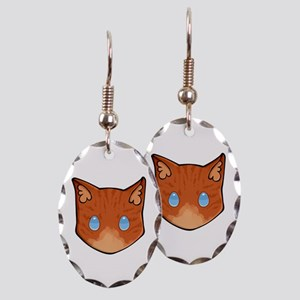Chibi Flametail Earring Oval Charm