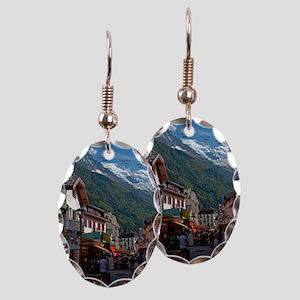 Chamonix Town Earring Oval Charm