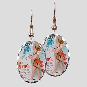 Cupids Sweet Valentine Earring Oval Charm