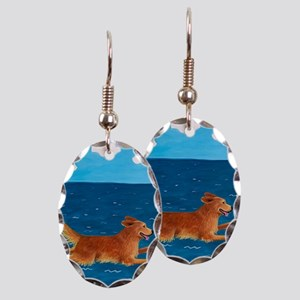 LEAP custom Earring Oval Charm
