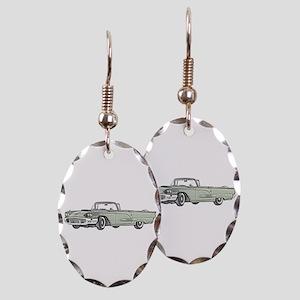 1958 Thunderbird Earring Oval Charm