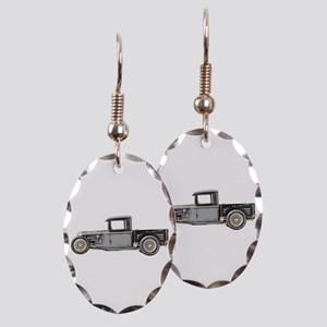 1932 Ford Earring Oval Charm