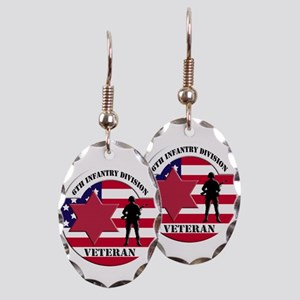 6th Infantry Division Earring