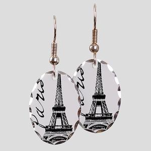 Paris Eifel Earring Oval Charm