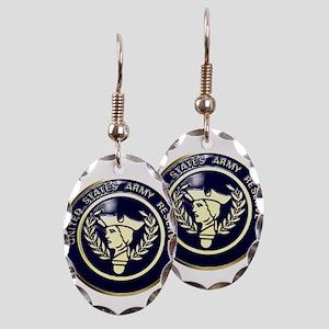 USA Reserve Logo Earring Oval Charm