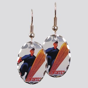 snow2-700x500-squaw-valley Earring Oval Charm