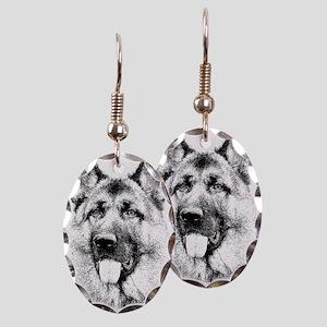GERMAN SHEPHERD Earring