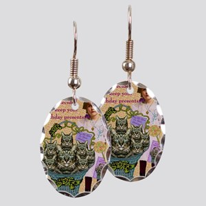 Good Intentions Earring Oval Charm