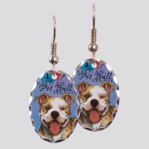 APBT-iPad Earring Oval Charm