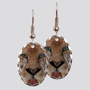 Saber Toothed Ttiger or Smilodon Earring