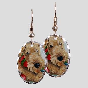Ornaments Earring Oval Charm
