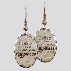 COFFEE WITH A FRIEND Earring