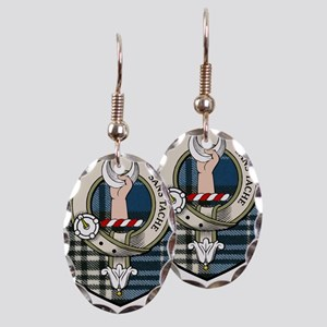 product name Earring Oval Charm