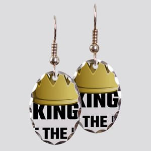 King Of The RV Earring Oval Charm
