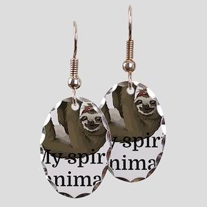 My Spirit Animal Earring Oval Charm