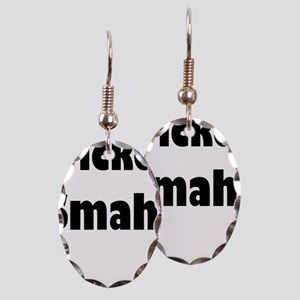 Wicked Smaht Earring Oval Charm