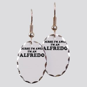 Of course I'm Awesome, Im ALFRE Earring Oval Charm