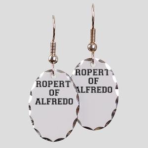 Property of ALFREDO Earring Oval Charm