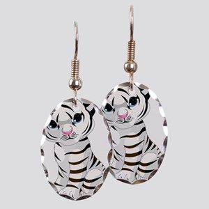 Baby White Tiger Earring