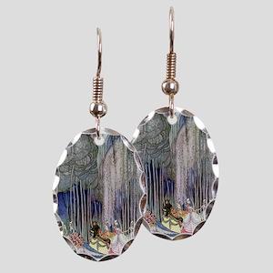 Kay Nielsen - Twelve Dancing Pr Earring Oval Charm