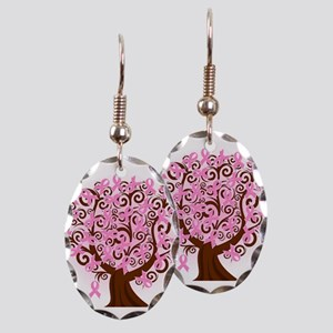 The Tree of Life...Breast Cancer Earring