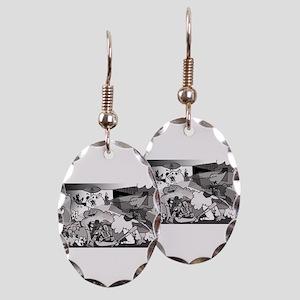 Guernicaracas Earring Oval Charm
