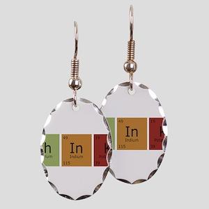 3-thinktrans Earring Oval Charm