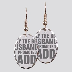 Only The Best Husbands Get Prom Earring Oval Charm